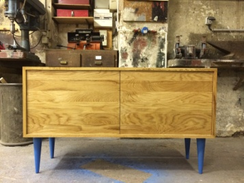 WOLF COMMODE / OAK WOOD / 150X40X70 / 800 EU
