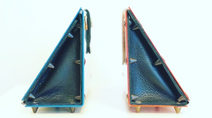 ANDY* BAG / ALUMINIUM AND LEATHER / 25X10X6